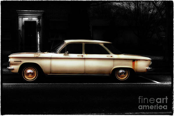 Corvair Photograph - Corvair At 909 by Steven Digman