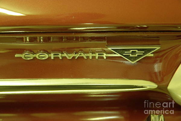 Corvair Photograph - Corvair by Jeff Swan