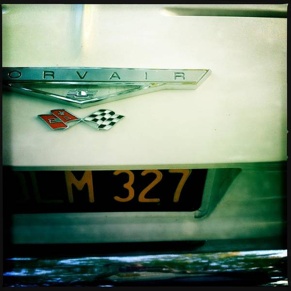Corvair Photograph - Corvair by Lori Knisely