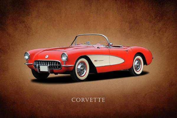Wall Art - Photograph - Corvette 1958 by Mark Rogan