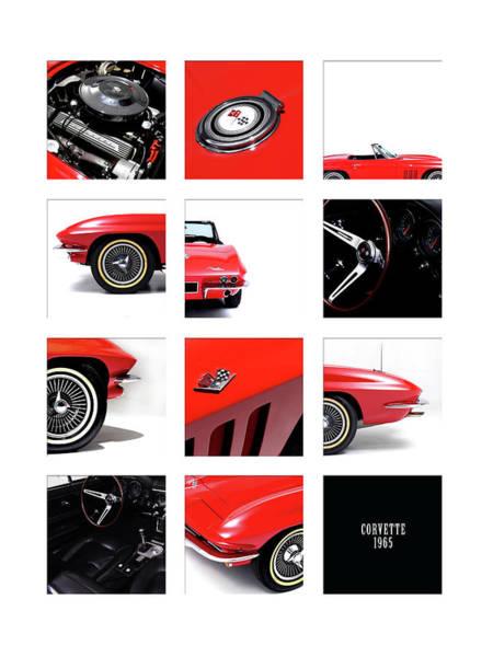 Wall Art - Photograph - Corvette 1965 by Mark Rogan