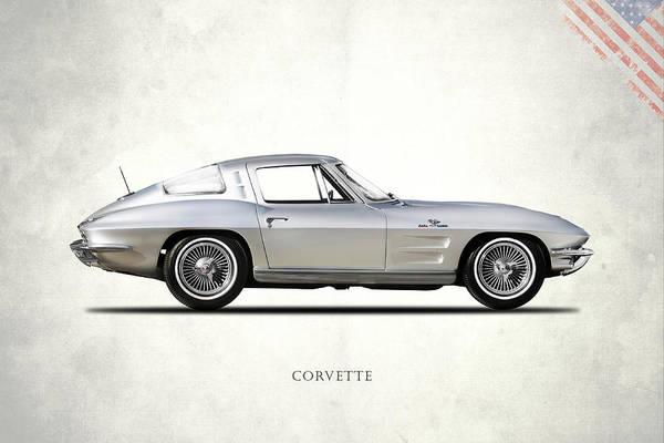 Stingray Wall Art - Photograph - Corvette 327 by Mark Rogan