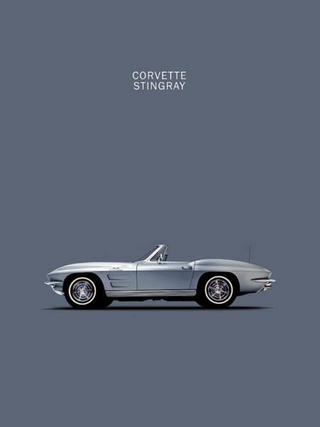 Wall Art - Photograph - Corvette 65 by Mark Rogan
