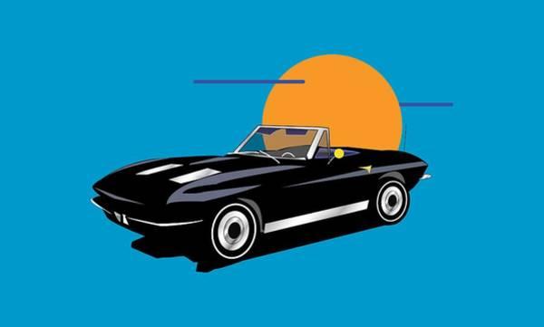 Wall Art - Digital Art - Corvette by Andy Donald