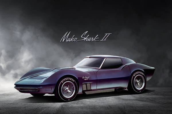 Wall Art - Digital Art - Corvette Concept by Peter Chilelli