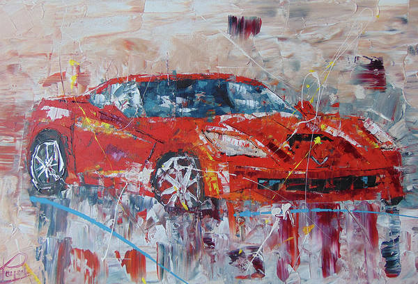 Painting - Corvette by Frederic Payet