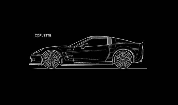 Wall Art - Photograph - Corvette Phone Case by Mark Rogan