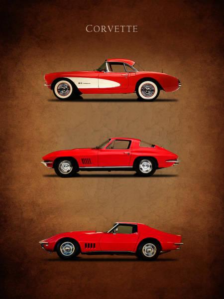Corvette Photograph - Corvette Series 1 by Mark Rogan