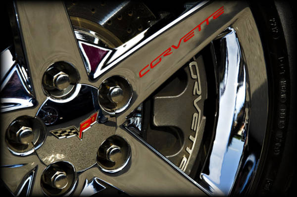 Wall Art - Photograph - Corvette Spokes II by Ricky Barnard