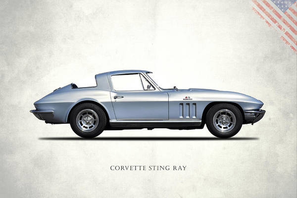 Wall Art - Photograph - Corvette Stingray 1966 by Mark Rogan