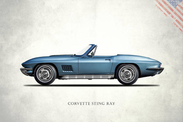 Wall Art - Photograph - Corvette Stingray 1967 by Mark Rogan