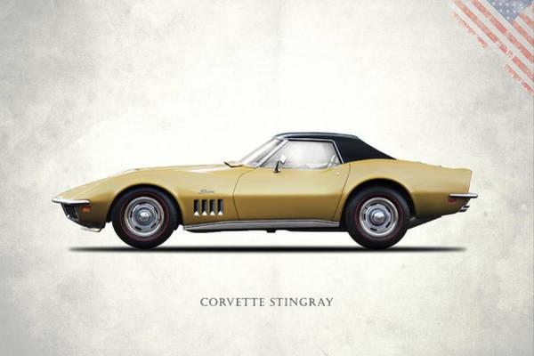 Wall Art - Photograph - Corvette Stingray 1969 by Mark Rogan