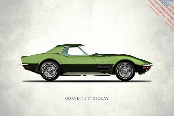 Wall Art - Photograph - Corvette Stingray 1970 by Mark Rogan