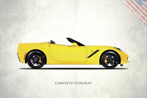 Wall Art - Photograph - Corvette Stingray Z51 by Mark Rogan