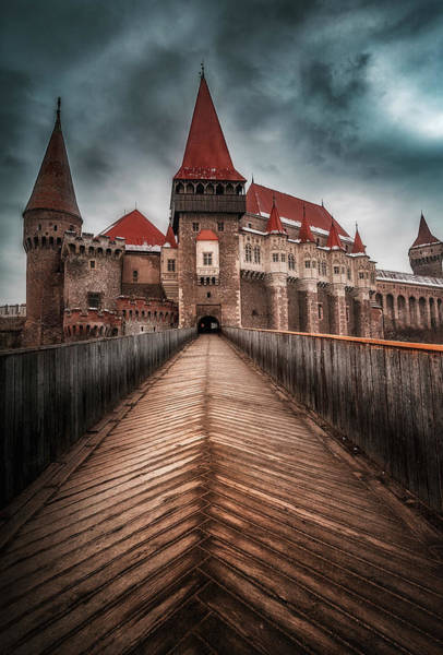Wall Art - Photograph - Corvin Castle 1 by Adrian Malanca
