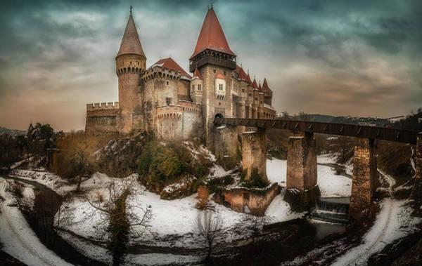 Wall Art - Photograph - Corvin Castle by Adrian Malanca