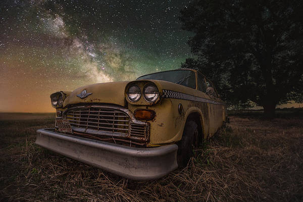 Photograph - Cosmic Cab by Aaron J Groen