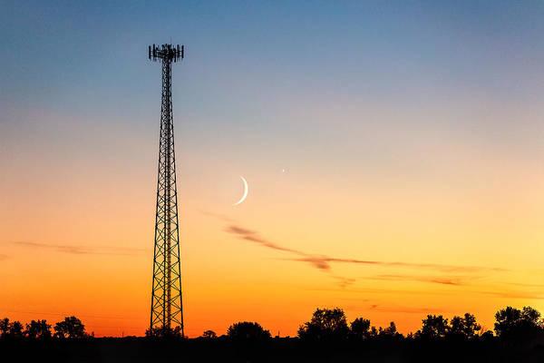 Telephone Photograph - Cosmic Communications by Todd Klassy