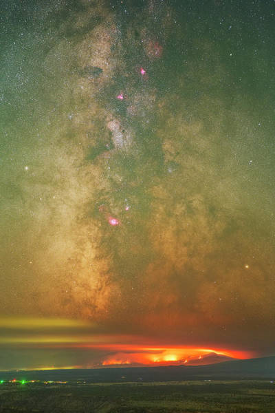 Photograph - Cosmic Embers by Ralf Rohner