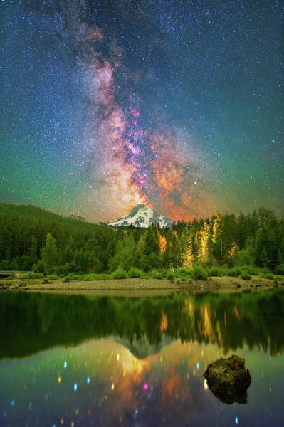 Photograph -  Cosmic Eruption by Ralf Rohner