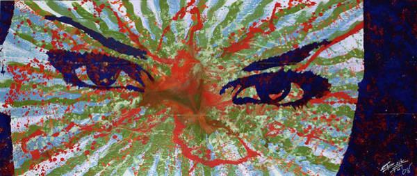 Painting - Cosmic Eyes by Erik Paul