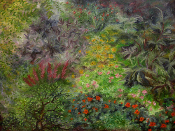 Painting - Cosmic Garden by FT McKinstry