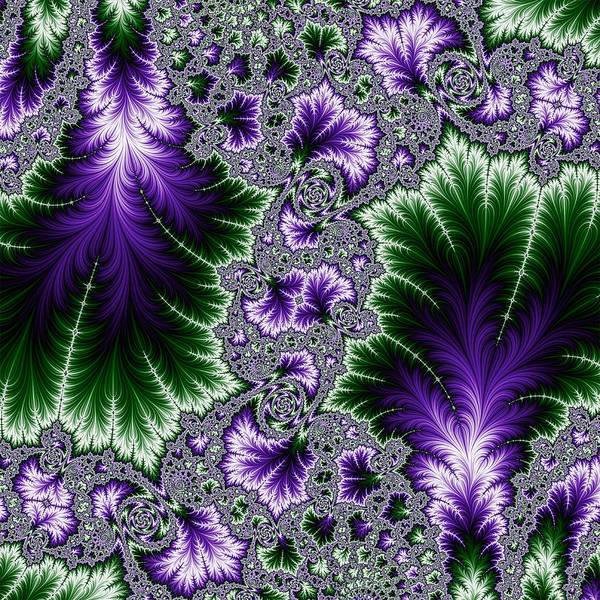 Digital Art - Cosmic Leaves by Becky Herrera