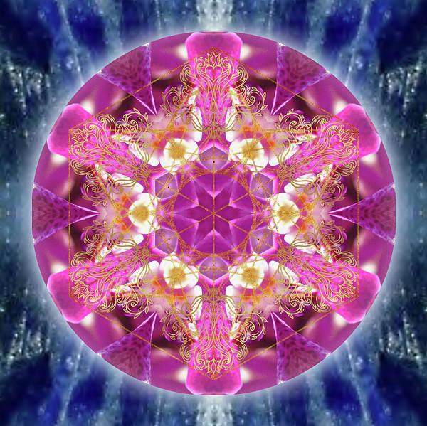 Digital Art - Cosmic Love by Alicia Kent