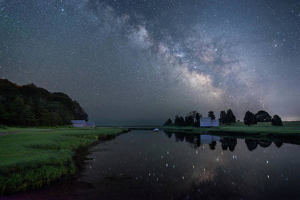 Photograph - Cosmic Reflection by Michael Blanchette