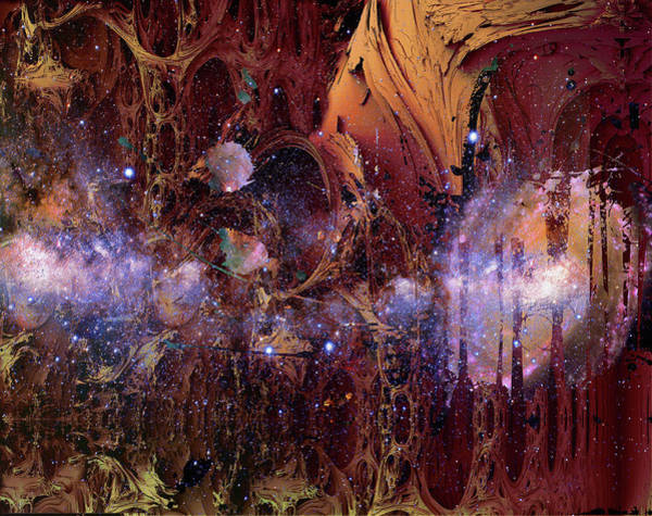 Photograph - Cosmic Resonance No 2 by Robert G Kernodle