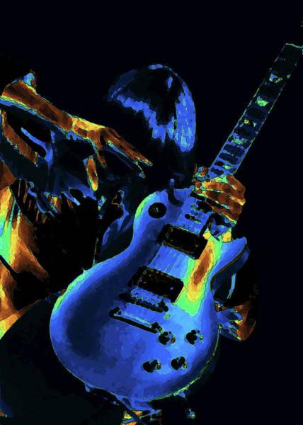 Photograph - Cosmic Rock Guitar by Ben Upham