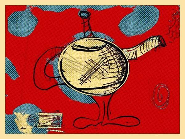 Cosmic Tea Time Art Print