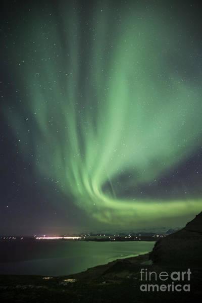 Aurora Wall Art - Photograph - Cosmic Twist by Evelina Kremsdorf
