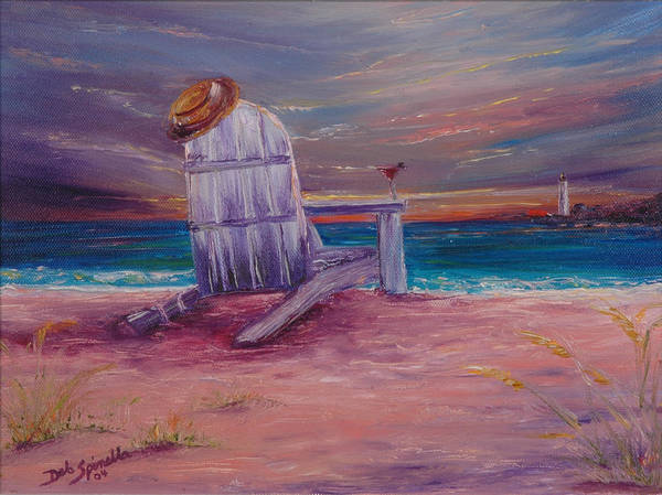 Cape May Painting - Cosmo By The Cove by Deb Spinella