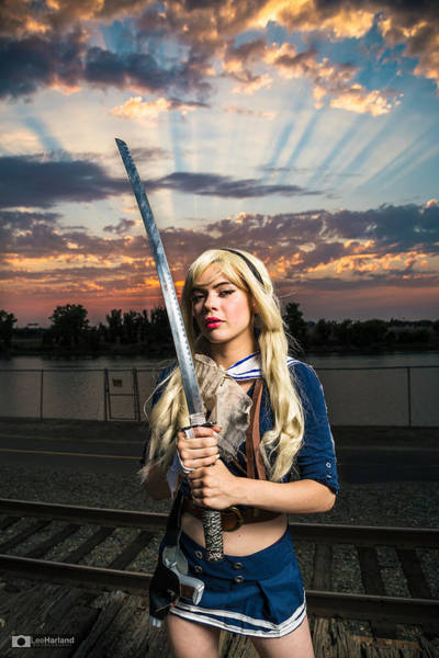Photograph - Cosplay/costume Play Sessions by Lee Harland