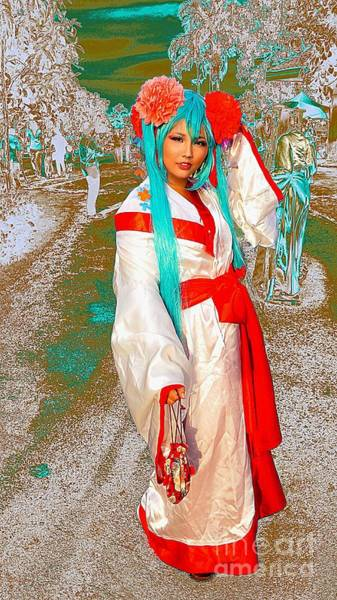 Cosplay Photograph - Cosplayer Of The Orient by Ian Gledhill