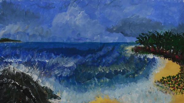 Costa Rica Beach Art Print