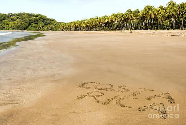 Wall Art - Photograph - Costa Rican Beach by Oscar Gutierrez
