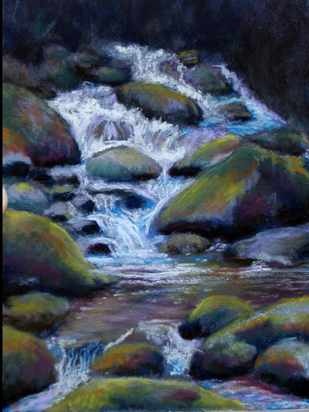 Painting - Costa Rican Stream by Susan Jenkins