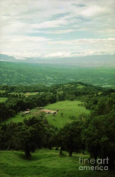 Photograph - Costra Rica Valley View by Ted Pollard