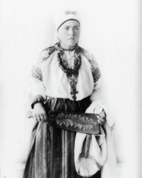 Photograph - Costume Of Russia 11 by John Feiser