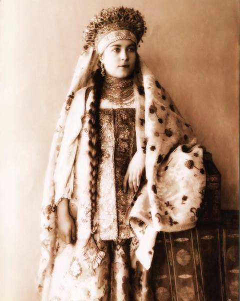 Photograph - Costume Of Russia 6 by John Feiser