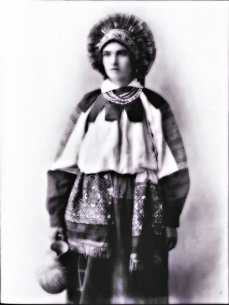 Photograph - Costume Of Russia 7 by John Feiser