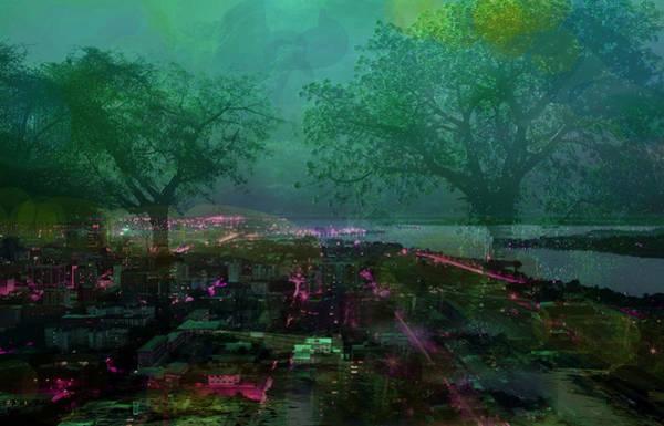 Digital Art - Cote D'ivoire Night by Paul Sutcliffe
