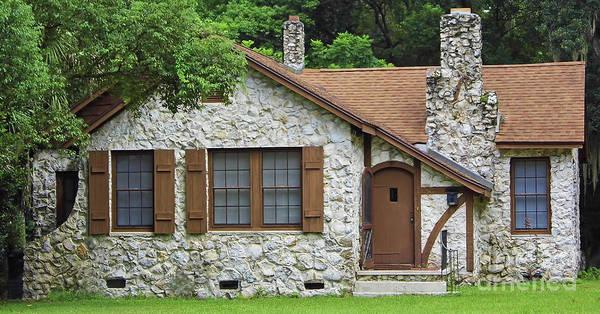Photograph - Cottage Chert Home by D Hackett