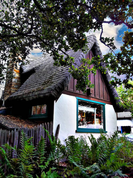 Photograph - Cottage Corner - Carmel by Glenn McCarthy Art and Photography