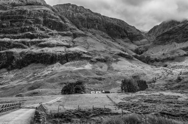 Photograph - Cottage In Glen Coe by Neil Alexander