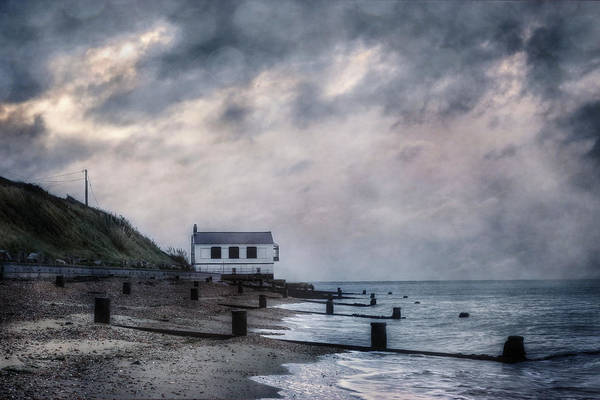 English Coast Wall Art - Photograph - Cottage In Storm by Joana Kruse