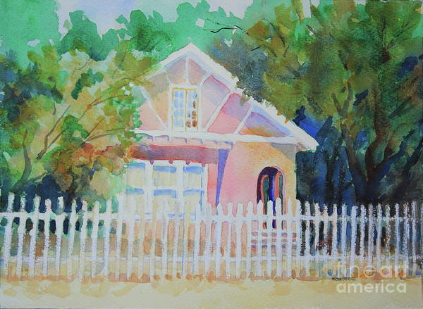 Central Texas Painting - Cottage On Park Street by Marsha Reeves