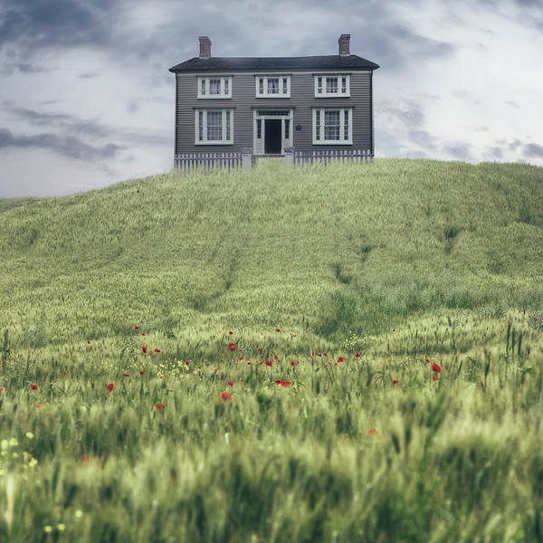 Pioneer Photograph - Cottage On The Hill by Joana Kruse